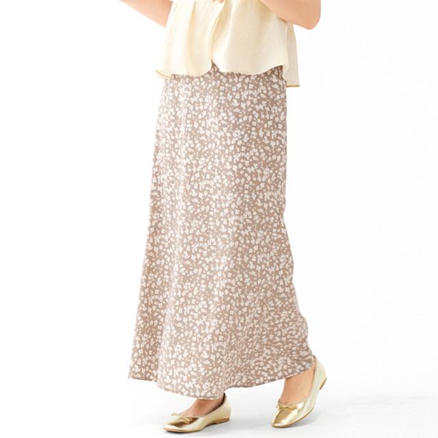 nuance flower skirt