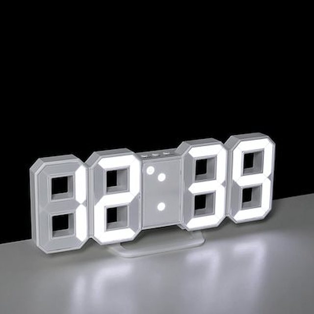 3DデジタルLED時計