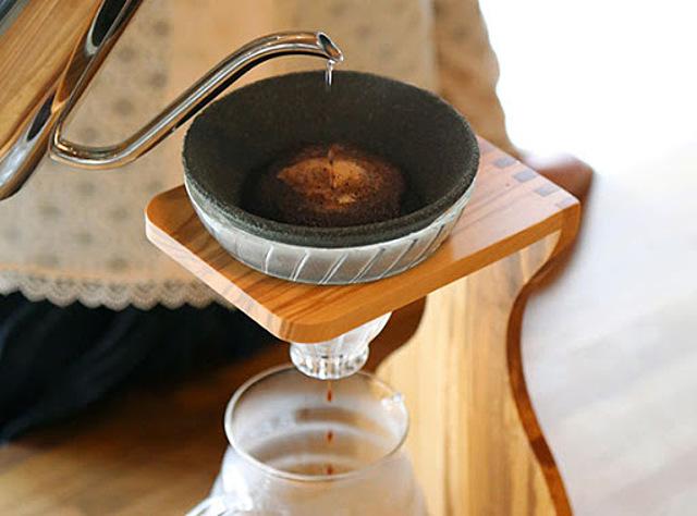 セラフィルター  セラミック円錐コーヒーフィルター3点セット