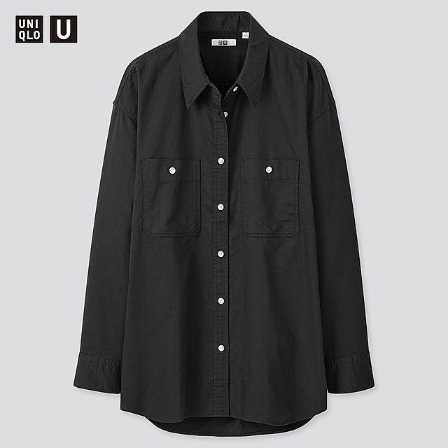 ダブルポケットオーバーサイズシャツ