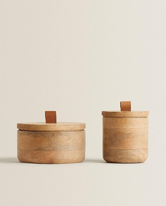 木製ラウンドボックス