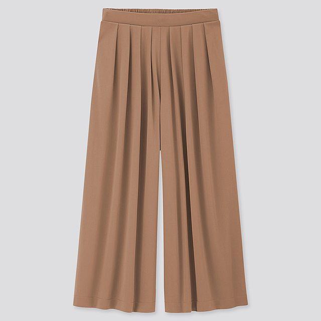 クレープジャージースカートパンツ(丈標準47~49cm)
