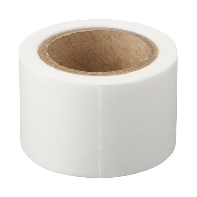 ミシン目入りマスキングテープ 白・幅30mm・9M巻き・ピッチ30mm