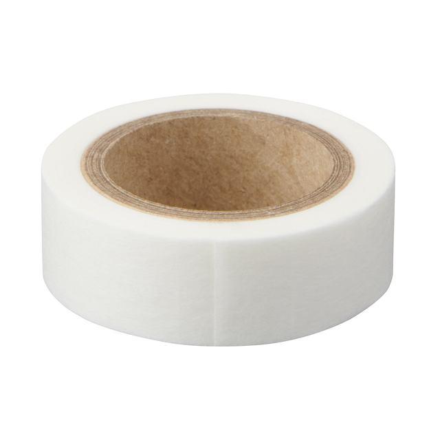 ミシン目入りマスキングテープ 白・幅15mm・9M巻き・ピッチ10mm