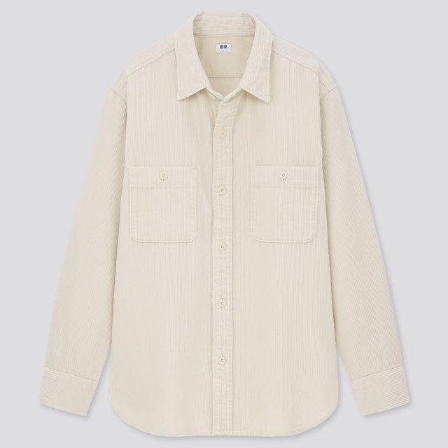 コーデュロイワークシャツ(長袖)