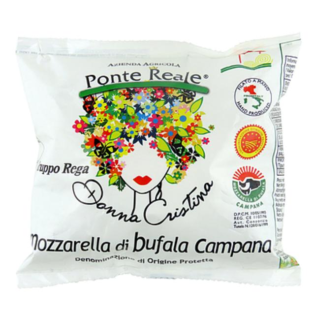 イタリア ドンナ クリスティーナ モッツァレラ ディ ブフォラDOP 125g