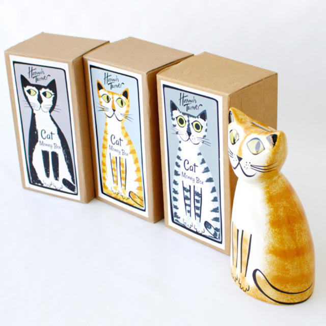 Hannah Turner Money box Cat