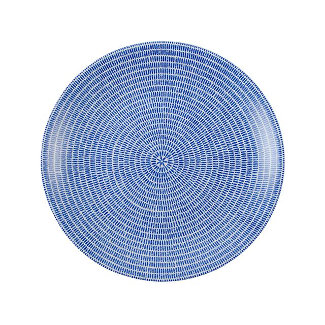 24h アベック プレート 20cm ブルー