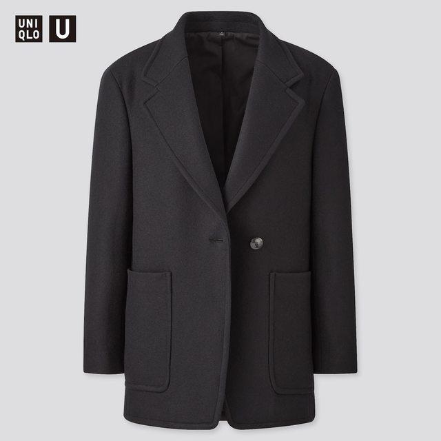 ウールブレンドジャージージャケット