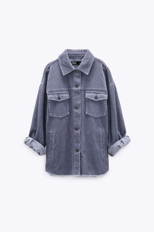 コーデュロイ シャツジャケット