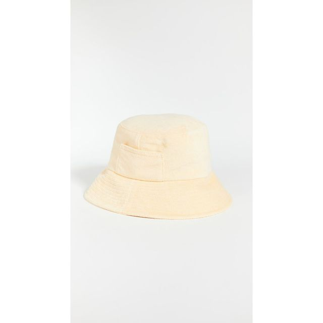 Terry Cloth Wave Bucket Hat