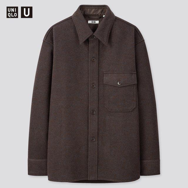 フリースシャツジャケット(長袖)