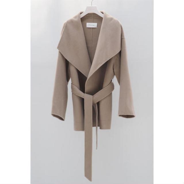Shawl Collar Short Coat