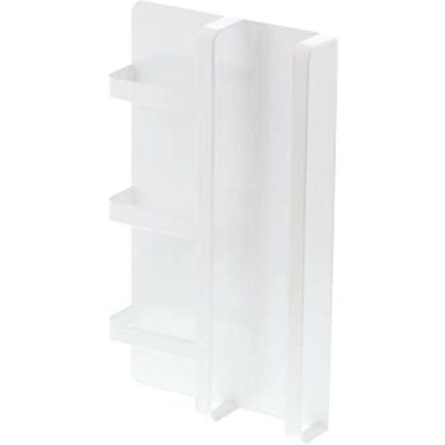 マグネット冷蔵庫サイドレシピラック タワー ホワイト