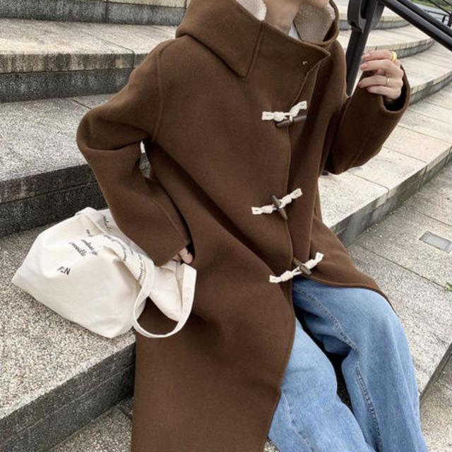 handmade wool duffle coat