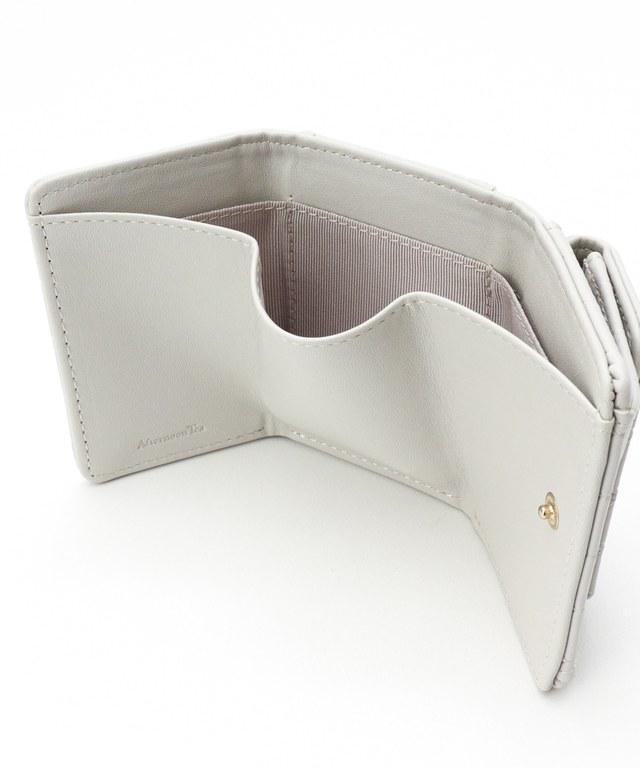 レース型ミニ財布