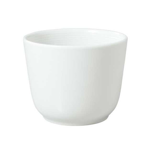 白磁 蕎麦猪口 約直径8.5×高さ6.5cm