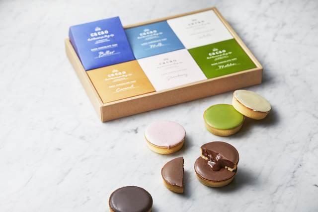 リッチ生チョコタルト6種6個詰め合わせ