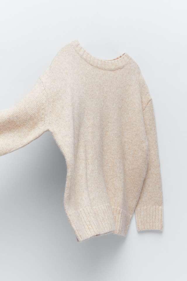 オーバーサイズニットセーター
