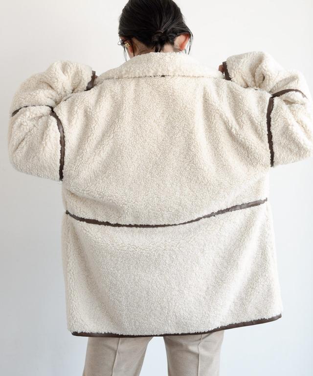 パイピングムートンボアジャケット