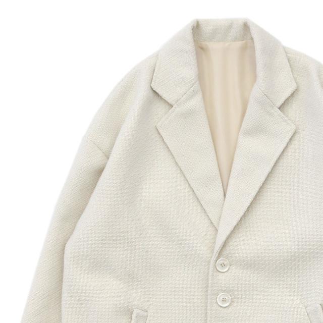 ツイードカーブポケットジャケット