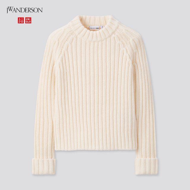 GIRLS クルーネックセーター