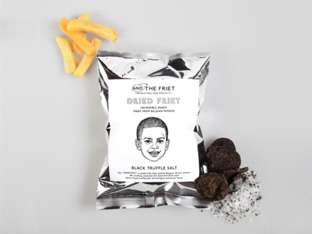 黒トリュフソルト : BLACK TRUFFLE SALT