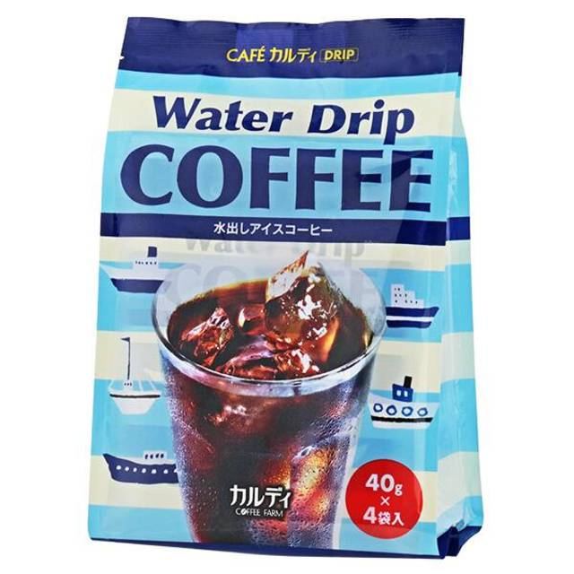 カフェカルディ ウォータードリップコーヒー(水出しアイスコーヒー) 4p