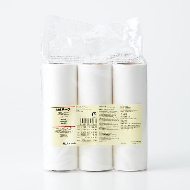 掃除用品システム・カーペットクリーナー用替えテープ 幅16cm