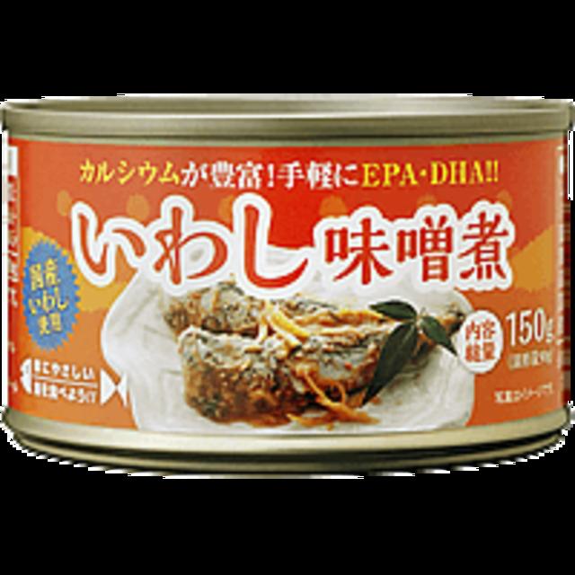 いわし味噌煮缶