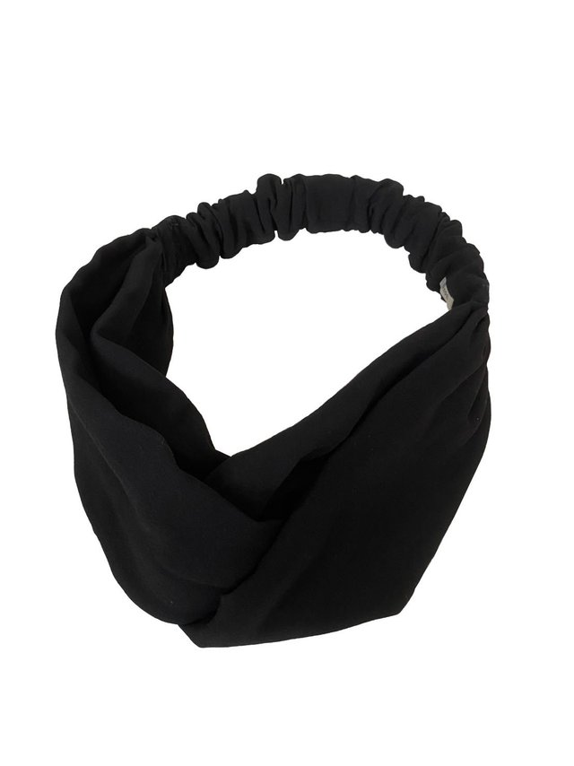 CANOÉ collaborating with shuco HAIR BAND MAT BLACK