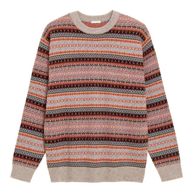 ソフトラムブレンドセーター