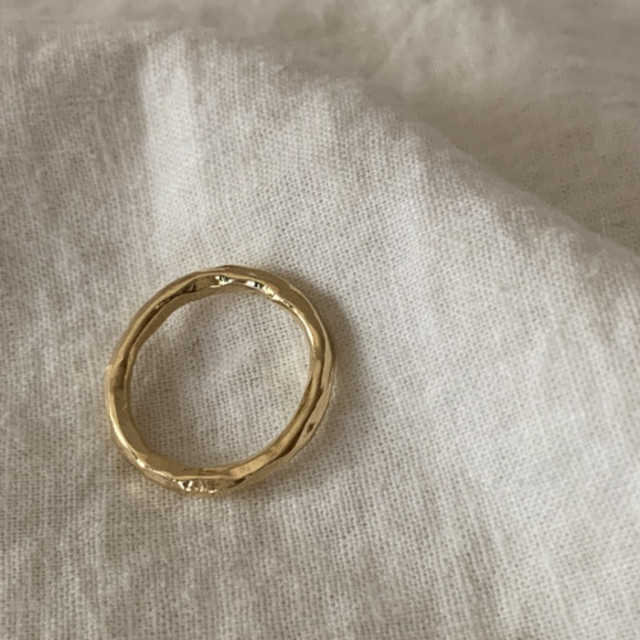 Silver925 obra ring gold 0120