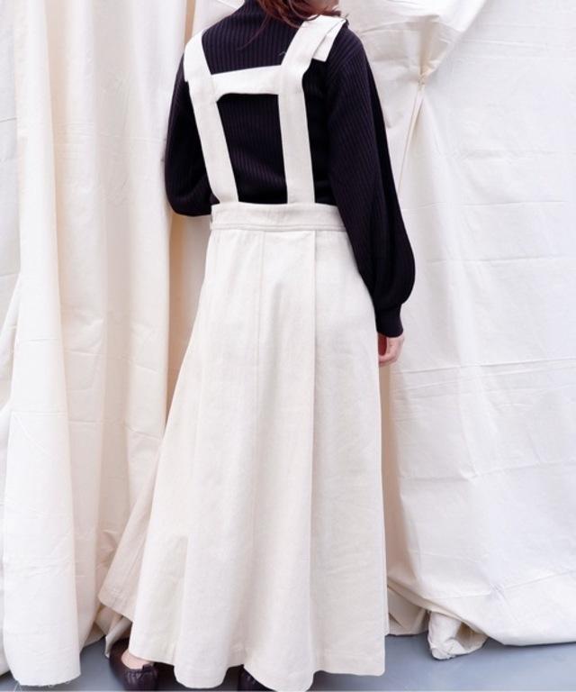 【ZOZO限定】フロントタックジャンパースカート