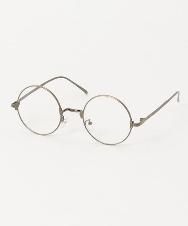 メタル丸メガネ