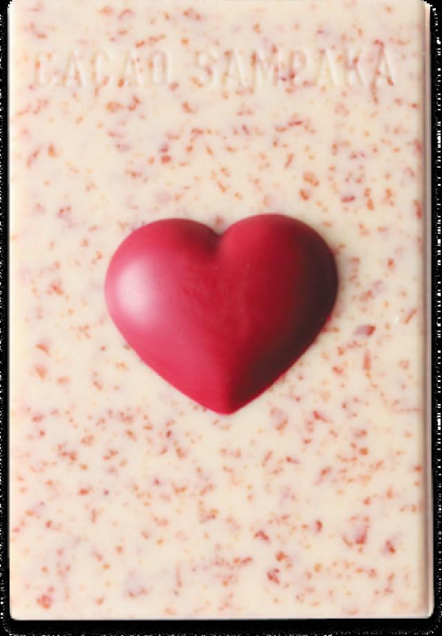 ハートタブレット ロサ アンベルコール (バラと苺とラズベリー
