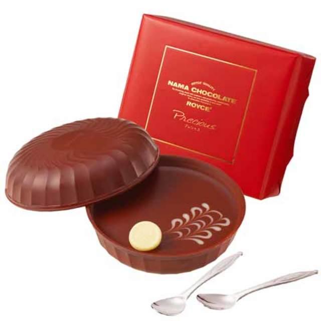 生チョコレート「プレシャス」(スプーン2本つき)