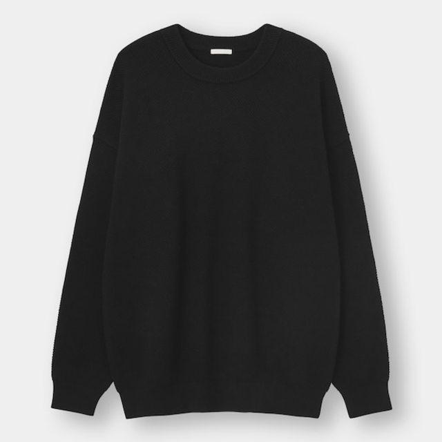カノコクルーネックセーター(長袖)+E