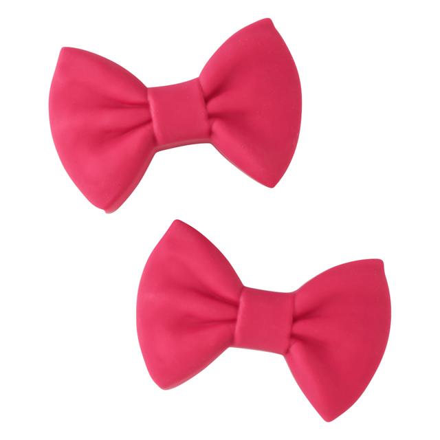 リボン なべつかみ ピンク(2個セット)