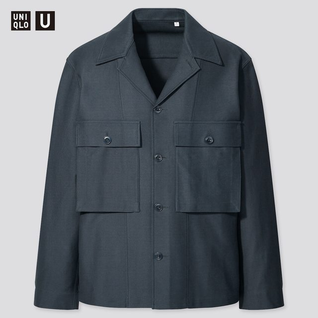 ジャージーシャツジャケット