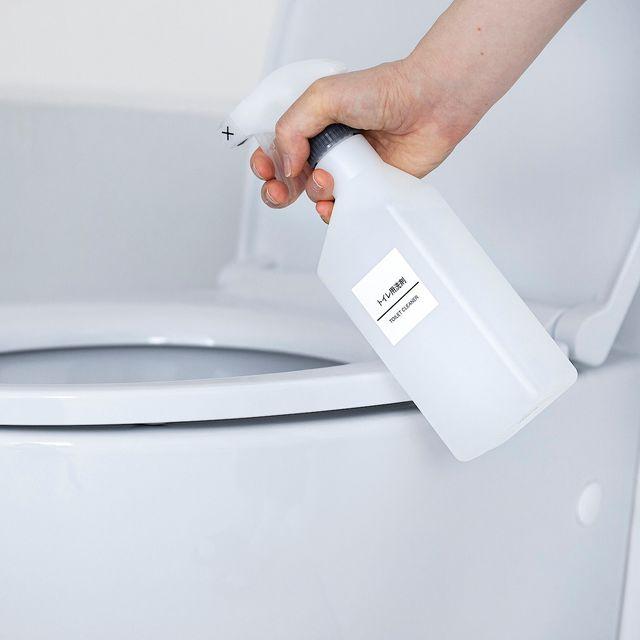 トイレ用洗剤 約400ml・逆さ噴射可能トリガー