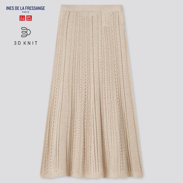 3Dポインテールロングスカート