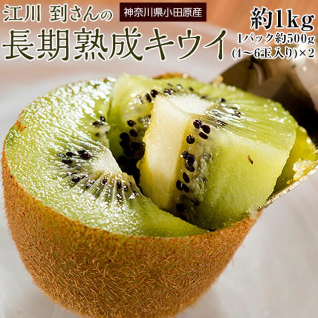 江川さんの長期熟成キウイ 約1kg