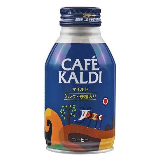 カルディオリジナル  カフェカルディ ボトル缶コーヒー マイルド 260g