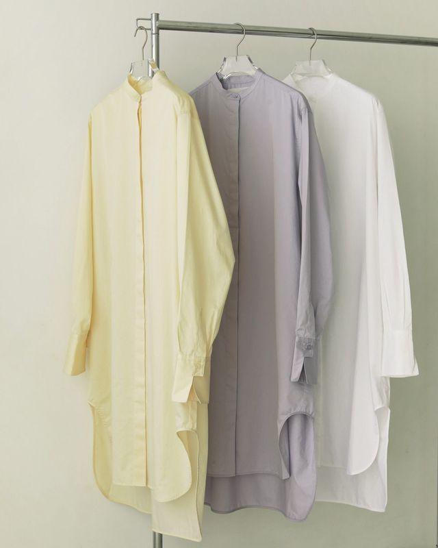 Standcollar Shirts Dress