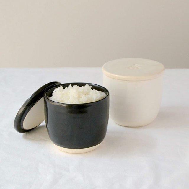 陶の飯びつ こぶり