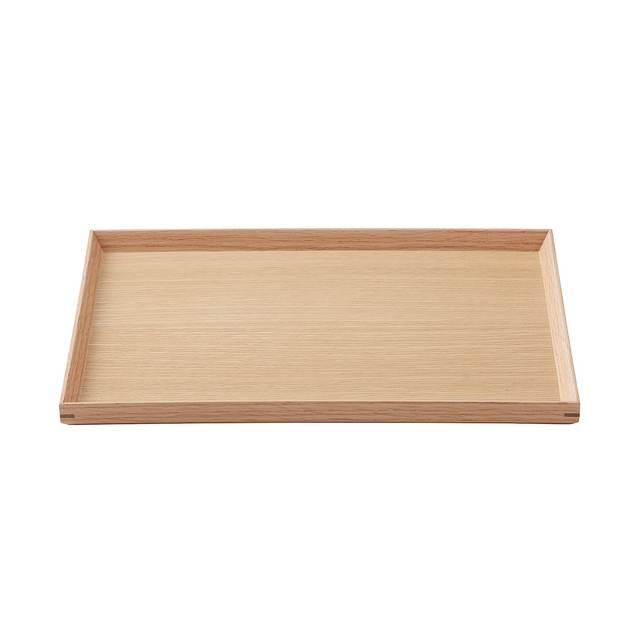木製角型トレー 約幅35×奥行26×高さ2cm