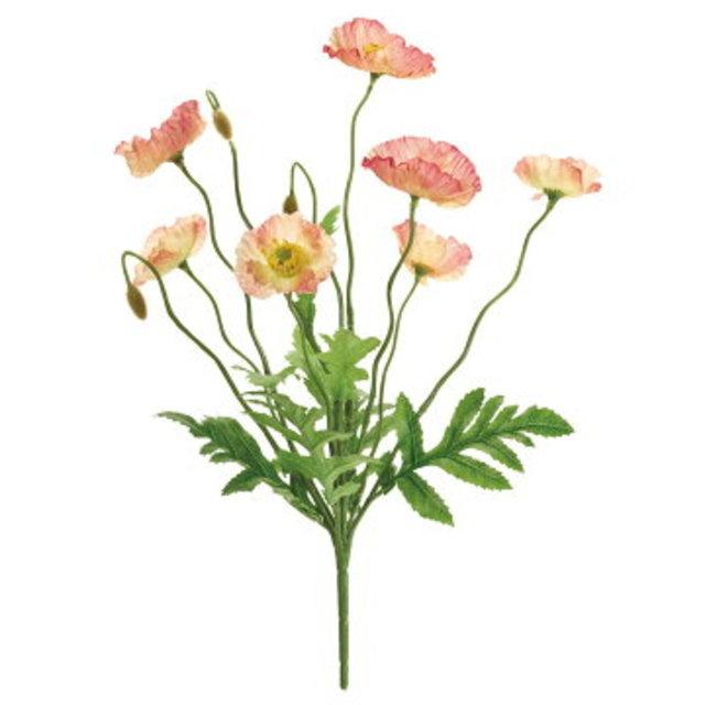 ブルームポピーブッシュ(造花)