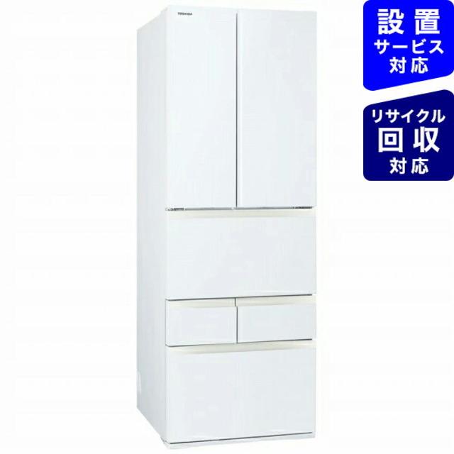冷蔵庫 VEGETA(ベジータ)FKシリーズ グランホワイトGR-S510FK-EW