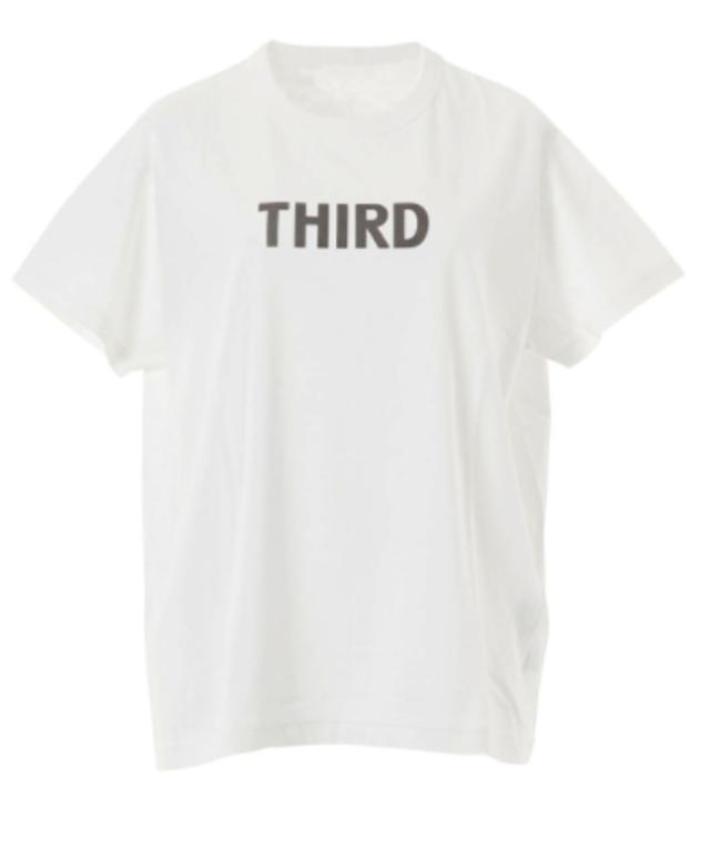 コラボ ロゴプリントTシャツ